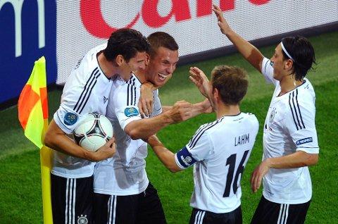 Tyskland representerer de suksessrike.