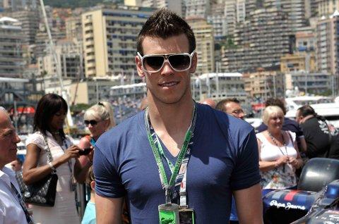 Gareth Bale har funnet tid til å forlenge med Tottenham under ferien. Her avbildet på Monte Carlo-banen i Monaco under formel 1-løpet der.