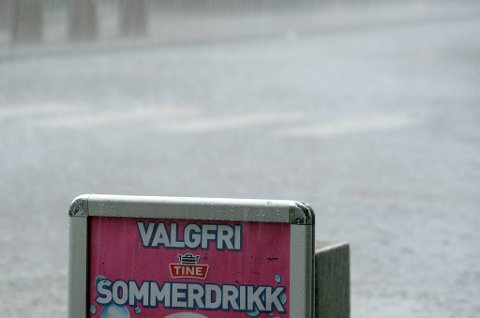 Ingenting tyder på at flomsituasjonen i Buskerud vil forverres utover kvelden.