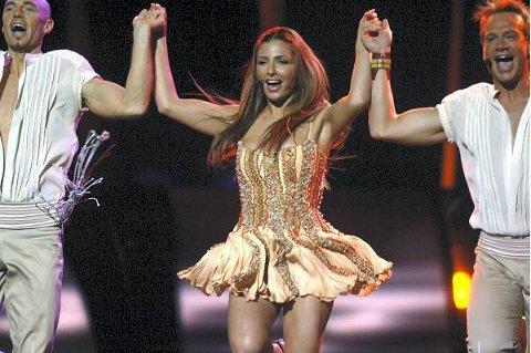 Hellas med svenske Helena Paparizou var favoritt i 2005, og innfridde.