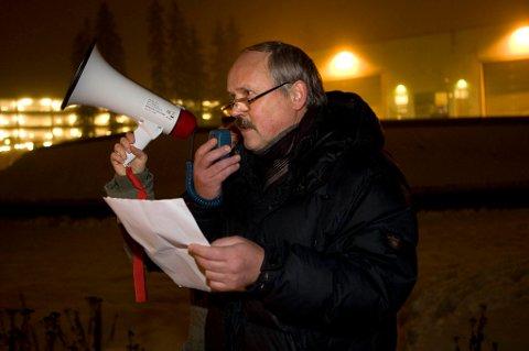 KRITISK: Gunnar Singstad reagerer sterkt på at Skedsmo vurderer å kutte i tilbudet innenfor psykisk helse. FOTO: LISBETH ANDRESEN