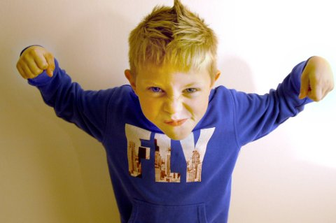 Ung sjef 2: Erlend Andreas Krognes (7) ser fram til å få en sjefsrolle under neste års Miniøya.