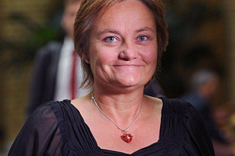 Fornyings-, administrasjons- og kirkeminister Rigmor Aasrud.