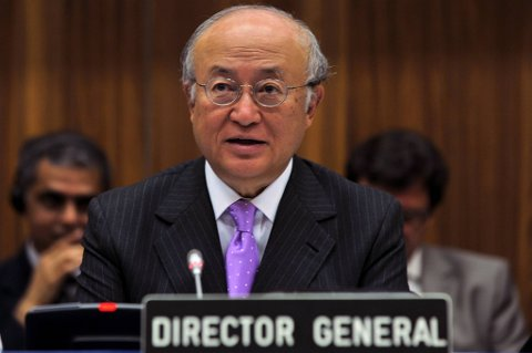 IAEA-sjef Yukiya Amano er skuffet over Iran.