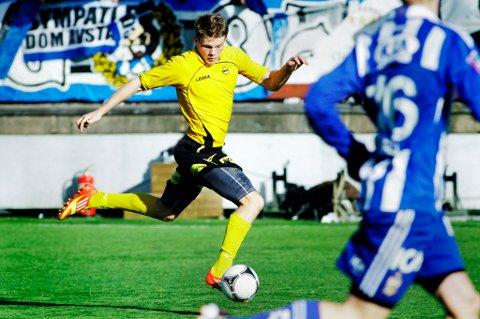 SPILTE 90 MINUTTER: Björn Bergmann Sigurdarson spilte sin første hele kamp for LSK for året. Islendingen så flere av lagkameratene avlevere gode avslutninger, men samtlige forsøk ble stoppet av IFK-keeper John Alvbåge. FOTO: BJøRN OLSSON