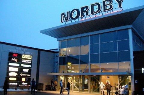 Hele 52 prosent av grensehandelen skjer i Strømstad-Svinesund-området, blant annet ved Nordby-senteret.