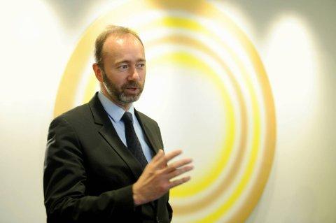 Næringsminister Trond Giske (Ap) deltok fredag i høringen om statens eierskapsutøvelse i Stortingets kontroll- og konstitusjonskomité.