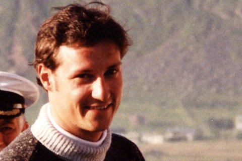 Kronprins Haakon på Borg, 23. juni 1997.