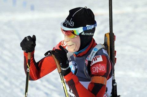 Tora Berger ble nummer fem.