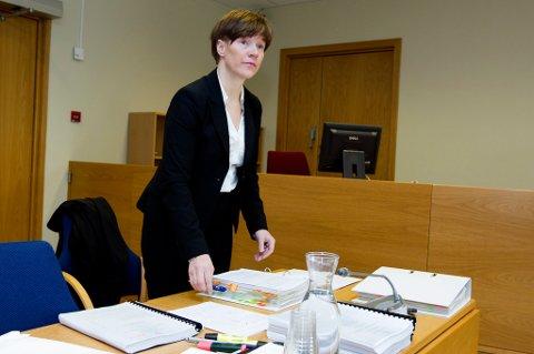 MOTTAKERLEDD: Statsadvokat Kirsti Elisabeth Guttormsen mener de fire tiltalte var fult klar over hva de var en del av.