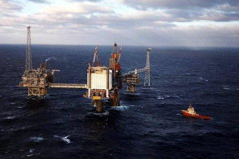 Oljeindustrien har høye lønninger.