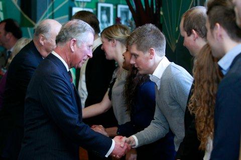 Prins Charles er på Norges-besøk.