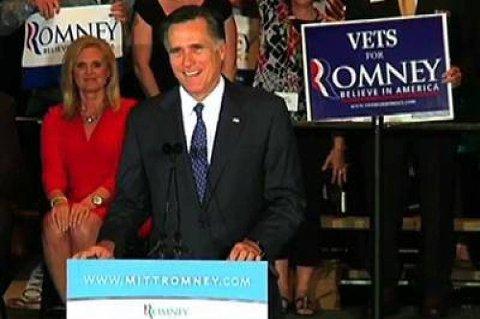 Mitt Romney vant overlegent i Illinois.