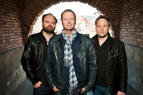 Fuck Up får rosende omtale av festivalsjef i Austin Texas. Fra venstre: Atle Antonsen, Øystein Karlsen og Jon Øigarden.