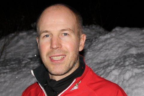 Inge Olsen i Leknes Ski.