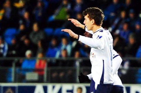 Gustav Wikheim hadde det fineste målet første serierunde.