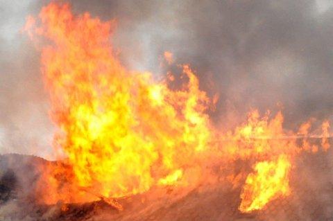 Ingen har kommet tilskade under brannen i Karasjok torsdag. Illustrasjonsfoto