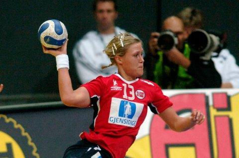 Marit Malm Frafjord, her fra en landskamp.