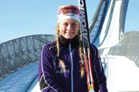 Lisa Kvamme sikret seg bronse i kvinneklassen under helgens Troll Ski Marathon.