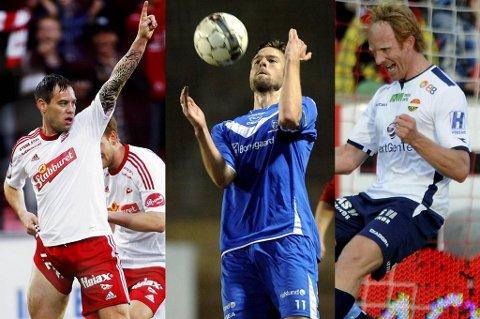 Thomas Holm, Øyvind Hoås og Peter Kovacs er blant kandidatene du kan stemme på fra helgas serierunde.