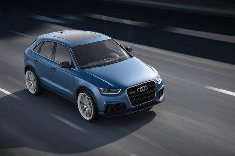 En heftig liten SUV fra Audi.