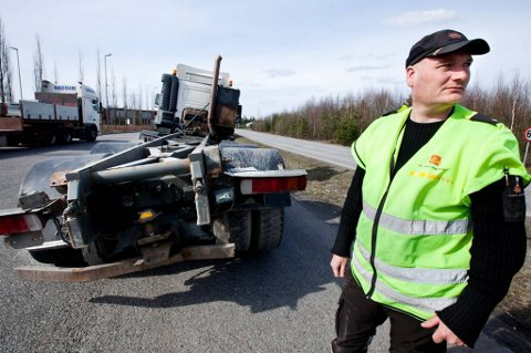 Kontrolleder Bjørn Uno Rogneby ved Trafikkstasjonen på Jessheim har aldri sett noe verre.
