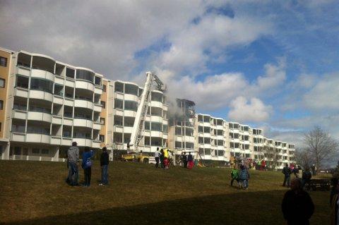 MANGE LEILIGHETER: Tulipanveien 44. FOTO: ROAR GRØNSTAD