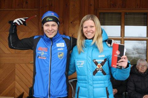 Magne Henriksen og Henriette Heitmann Mikkelsen, Alta IF.
