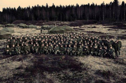 154 jenter var samlet til Forsvarets kvinncamp i helga.