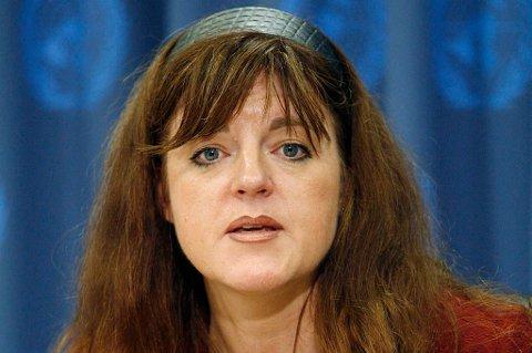 FNs spesialutsending for Sør-Sudan Hilde Frafjord Johnson er svært bekymret.