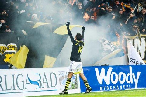 Celso Borges er populær blant AIK-fansen.
