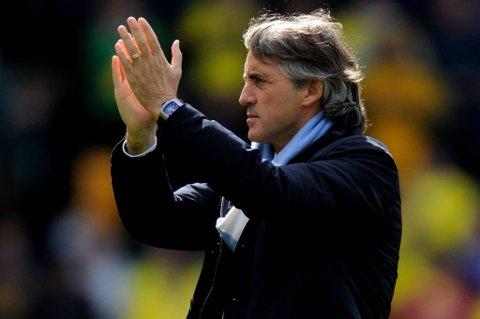 Roberto Mancini regner med å få beholde jobben selv om det ikke blir seriegull.