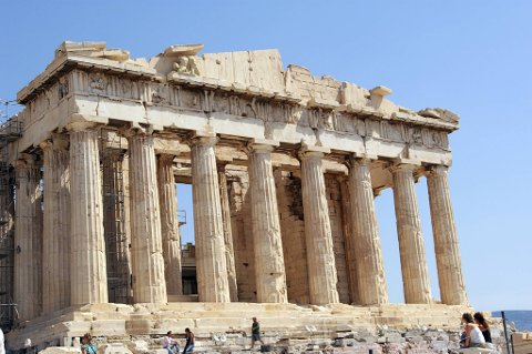 Hellas har mange turistattraksjoner, men i år vil de bli oppsøkt av langt færre tyskere enn vanlig.