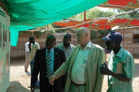 Jan Ledang  er landdirektør i Norsk Folkehjelp i Sør-Sudan.