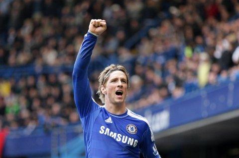 Fernando Torres scoret sitt første hat-trick for Chelsea.