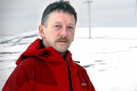 Gudleif Kristiansen var en av mange frivillige fra Røde Kors som lette etter mannen rett før julen 1999. Foto: Allan Klo