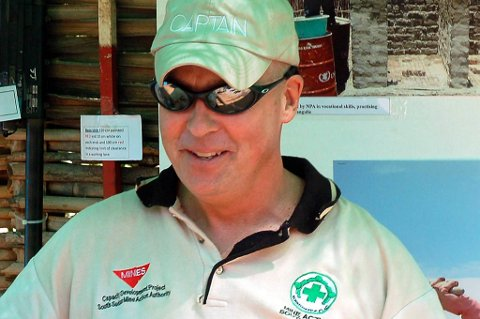 John Sörbö sitter fengslet i Sudan.