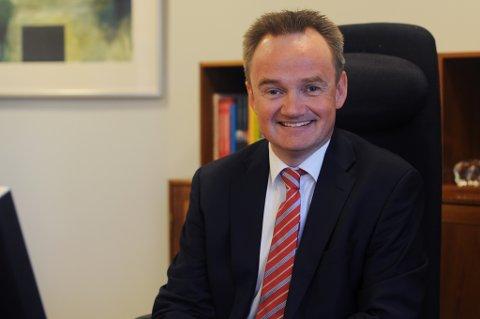 Jan-Frode Janson er ny konsernsjef i SpareBank 1 Nord-Norge.