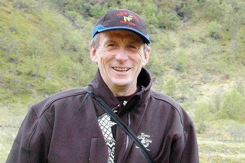 Nils Henrik Sara, leder i Norske Reindriftssamers Landsforbund.