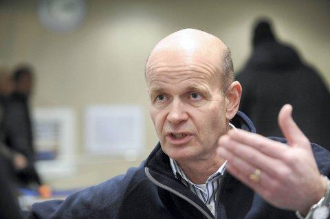 President i Norges Røde Kors, Sven Mollekleiv.
