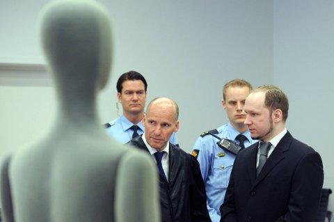 Anders Behring Breivik vil trolig forlate retten under noen av vitneforklaringene.