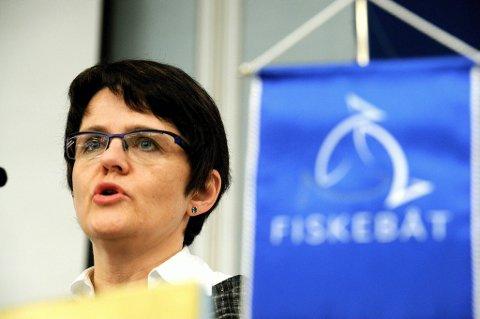 Fiskeri- og kystminister Lisbeth Berg-Hansen.