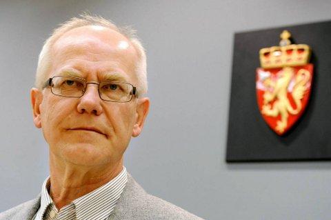 Sorenskriver Geir Engebretsen forsikrer om at det er trygt i tinghuset.
