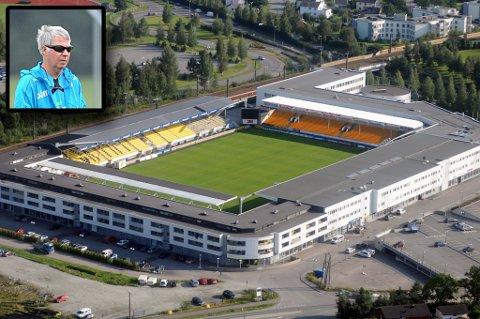 SKAL TRENE HER: Egil «Drillo» Olsen og landslaget skal trene på Åråsen og Lillestrøm stadion i tida som kommer.