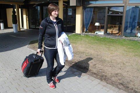 Idrettskretsleder May Bente Eriksen må nok vente seg flere scener som dette i årene som kommer. Som leder av Finnmark idrettskrets vil «reisedøgn» bli en like naturlig del av vokabularet som «bryting» har vært til nå.