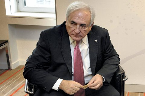 Dominique Strauss-Kahn, tidligere sjef for pengefondet IMF.