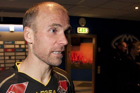 PÅ KURS: Steinar Pedersen har kommet inn på UEFAs A-lisenskurs. Det betyr at han er mister kampen mot Sandnes Ulf 30. juni.  FOTO:  SCANPIX