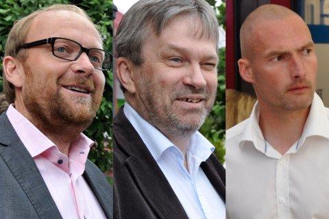 Nils Henrik Wærstad, Kjell B. Hansen og Frode Lafton var alle fulle av lovord om året revy.