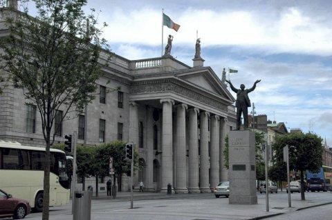Irene har stemt ja til EUs finanspakt om strengere budsjettkontroll. Her fra Dublin.