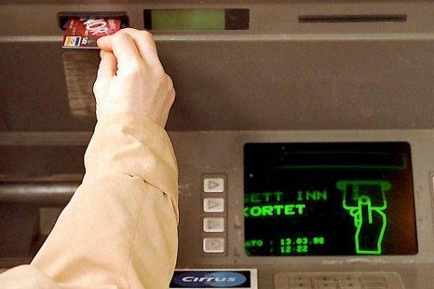 Snart tomt! Minibankene vil snart gå tomme på grunn av vekterstreiken.